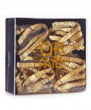 encre de seiche / feuilles d'or